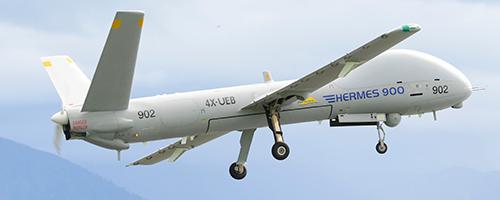 Hermes 900 HFE Drone des VBS